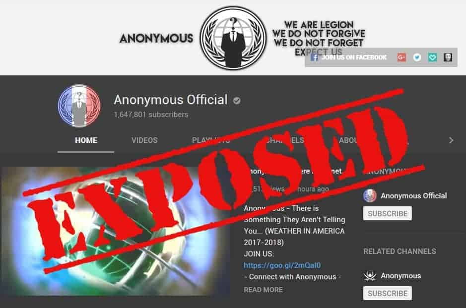 anonymous official youtube exposed
