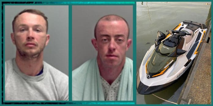 2 men get prison for trying to ride Jet Ski from Netherlands to UK with 278000 worth of cocaine