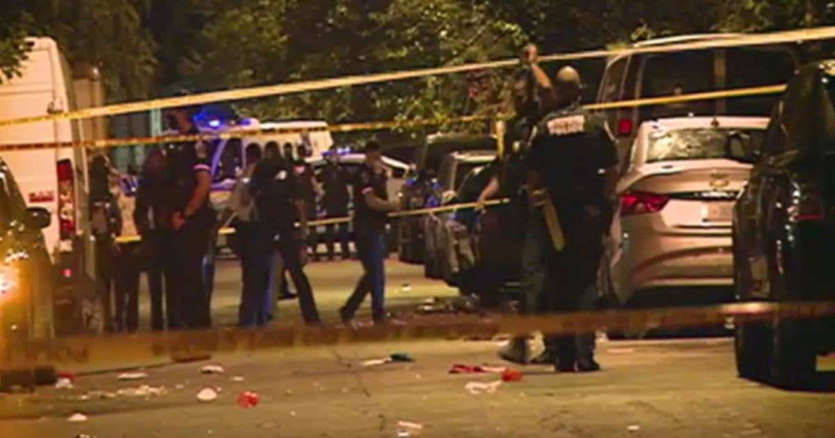 Washington D.C. DC shooting August 8 Saturday night