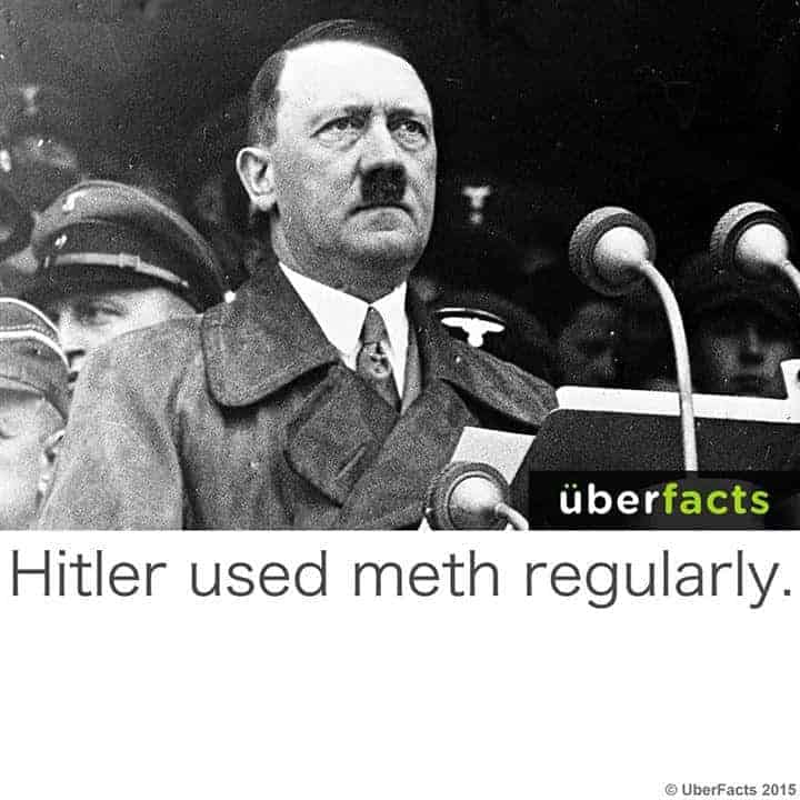 Hitler used meth regularly the angry German voice