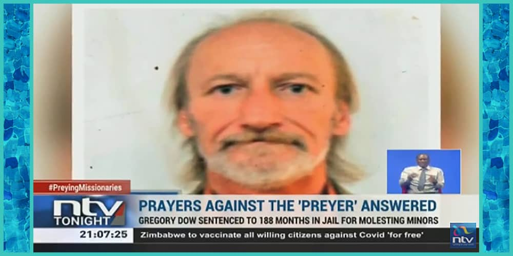 American missionary Gregory Hayes Dow sentenced to prison for child sex crimes