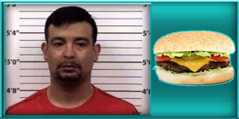 Dominic Calderon Albuquerque New Mexico man busted arrested police sting paid pay paying prostitute with hamburger