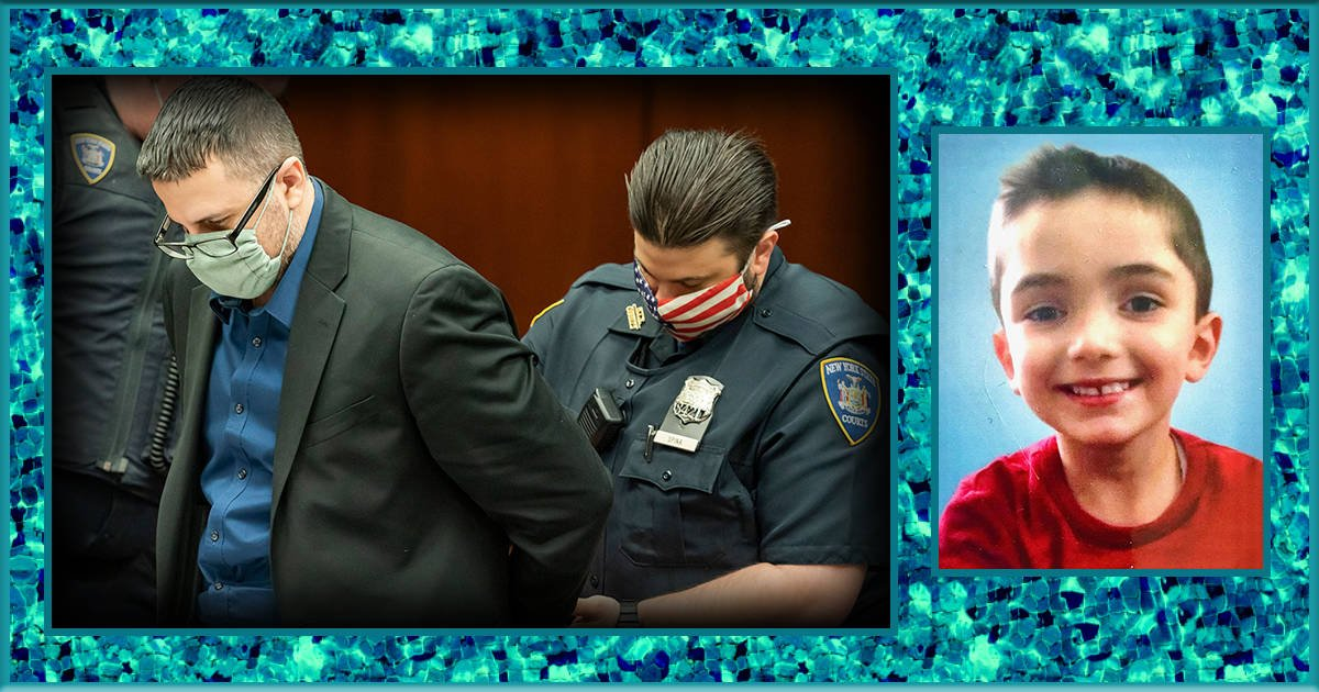 Ex NYPD police officers dog slept in heated room as son froze to death locked inside garage
