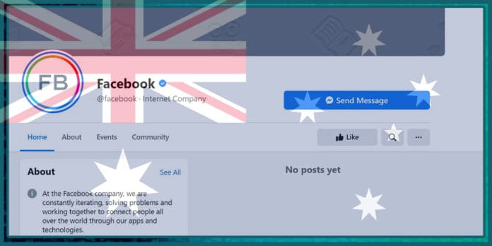 Facebook Accidentally Blocks Its Own Page and much more in Australia Following News Ban
