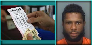Florida Man Herbert McClellan clearwater police department stolen lotto lottery tickets