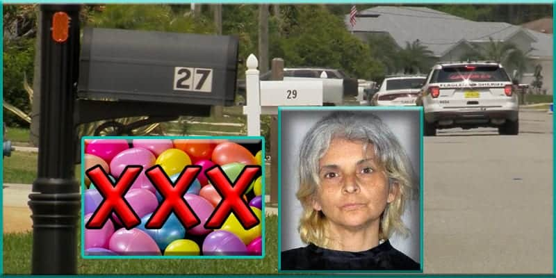 Florida woman Abril Cestoni arrested for porn filled Easter eggs in mailboxes