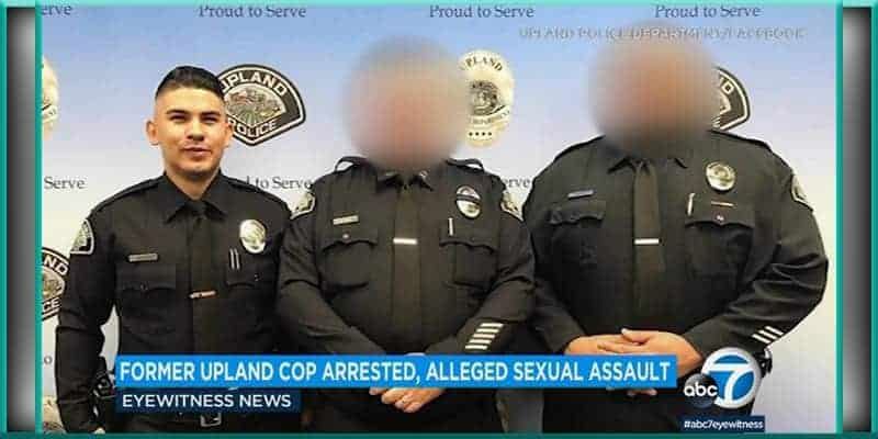 Joshua Duarte Upland police department sexual assault charges arrested charged