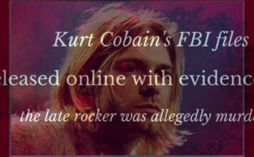 Kurt Cobain FBI files quietly released online with evidence the late rocker was murdered