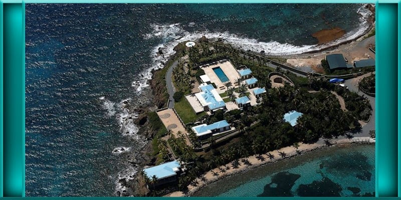 Little St James Island Jeffrey Epstein property properties US U.S. Virgin Islands