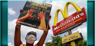 Mcdonald's strike for black lives discrimination lawsuit