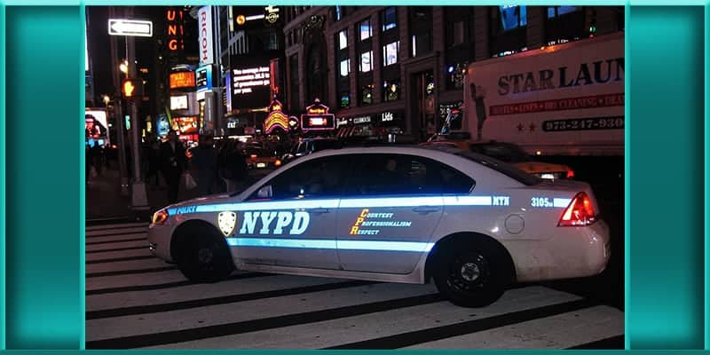 NYPD police patrol car vehicle off duty off-duty detective arrested assaulted assaulting wife Queens home New York