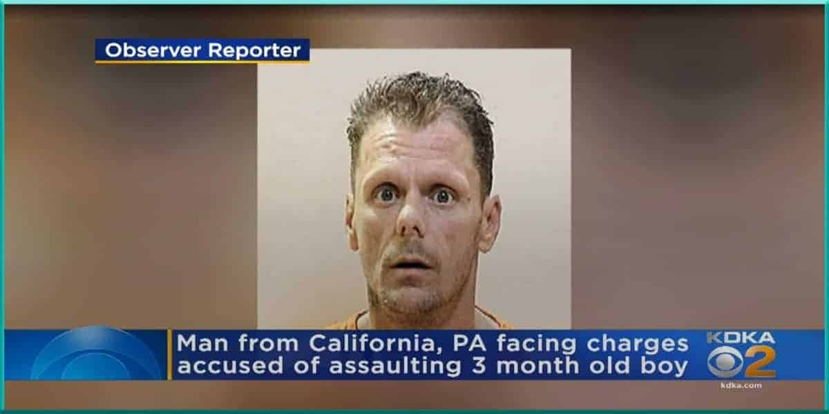 Demetrick Montgomery California Pennsylvania man faces several charges charged abusing three 3 year old son