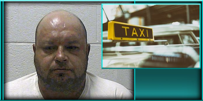Travis Wayne Dulaney drunk Tennessee man tried attempted to steal a taxi cab police called ordered for him