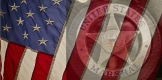 US U.S. Marshals service American United States flag design