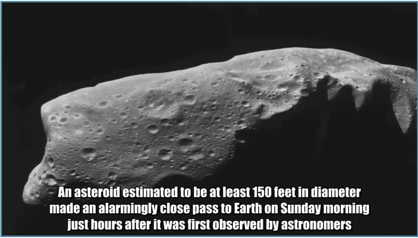 asteroid GE3 2018