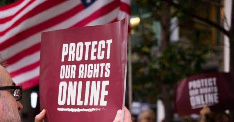 net neutrality protests activists