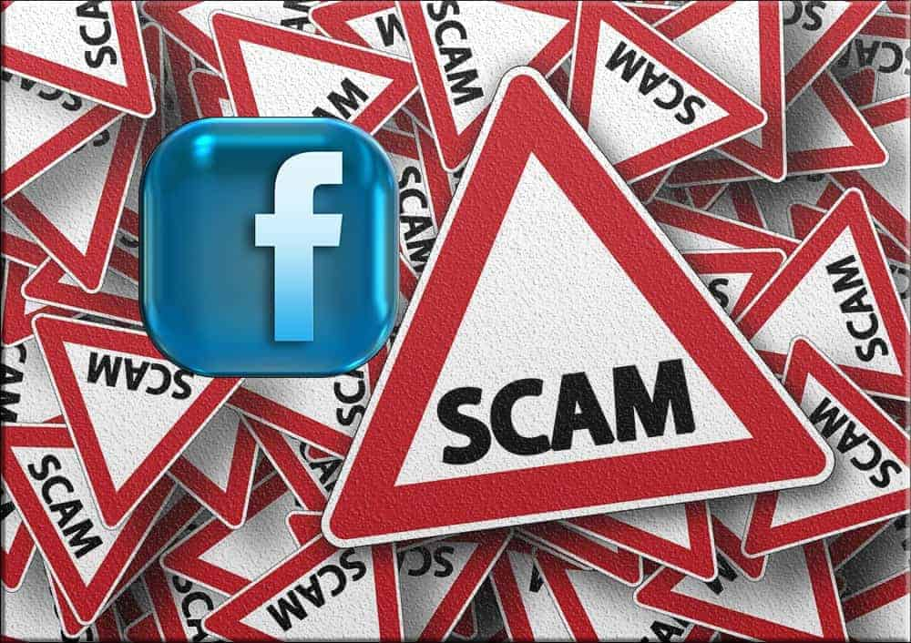 facebook scam fraud alert ads ad advertisements advertisement promoted posts post