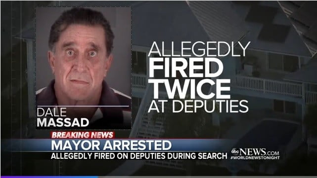 Port Richey Florida Mayor Dale Massad arrested