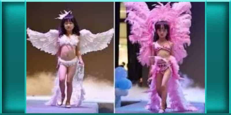 hollywood victorias secret normalizing pedophilia young girl lingerie models