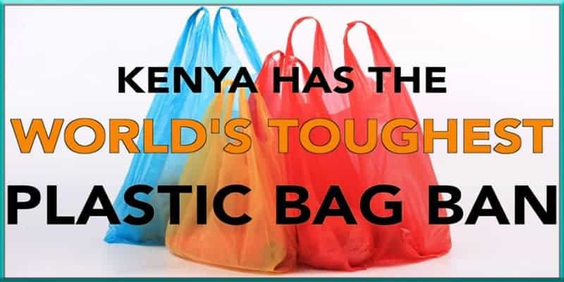 Kenya plastic bag ban United States US U.S. nothing when compared comparison law laws