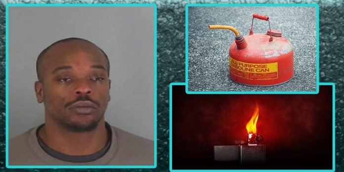 larry dean brown jr south carolina set girlfriend on fire with gasoline