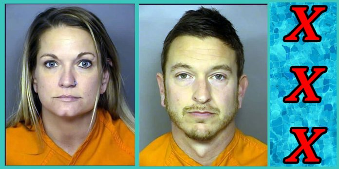 lori and eric harmon south carolina couple arrested for making porn on Myrtle Beach skywheel ride and community pool