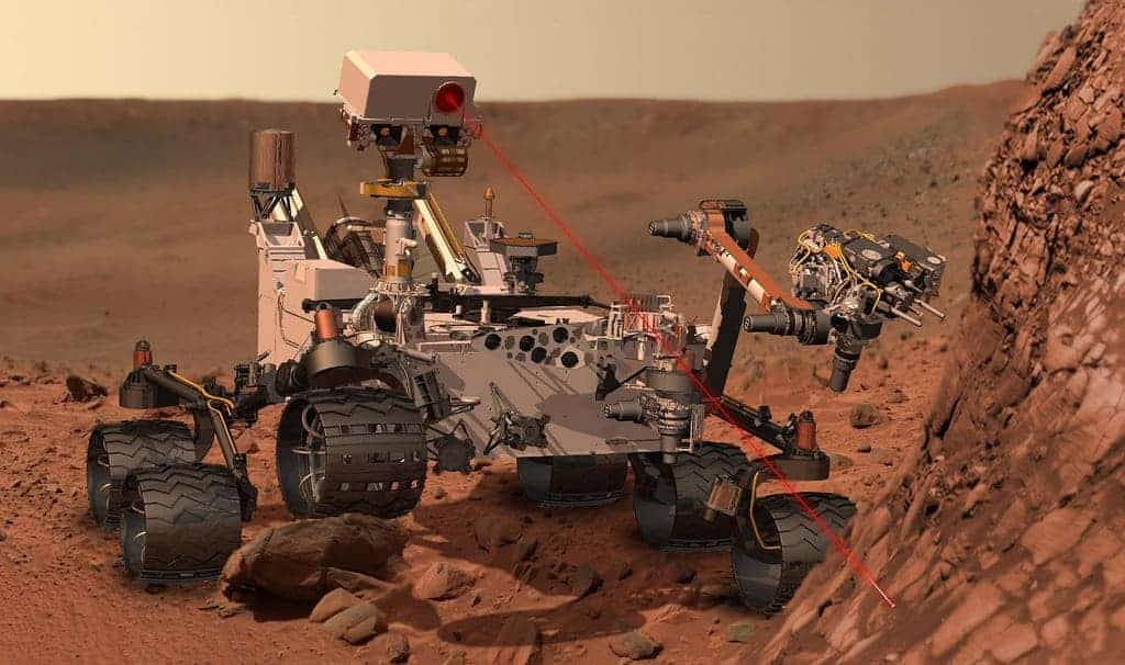 mars curiosity rover oxygen support life red planet