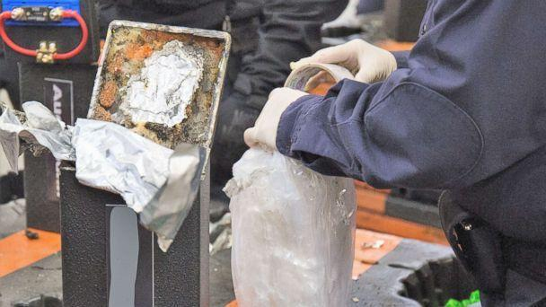 methamphetamine discovered seized hidden inside in speakers long beach california seaport mid january customs border protection