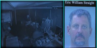 naked florida man knocking knocked on little girl's child's window Eric William Straight