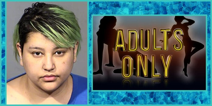 naked woman arrested for casuing 3 hour power outage at Las Vegas Nevada hotel