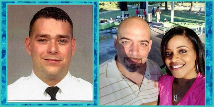 officer adam coy ohio charged with murder for killing of andre hill holding phone