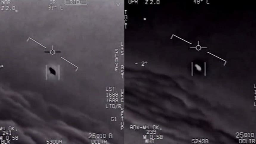 pentagon admits tracking ufos releases shocking video confirming alien encounter