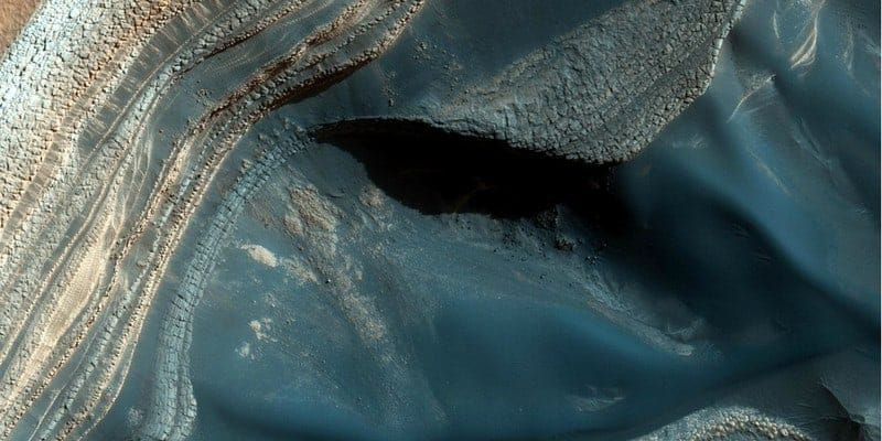 water found discovered on Mars by scientists