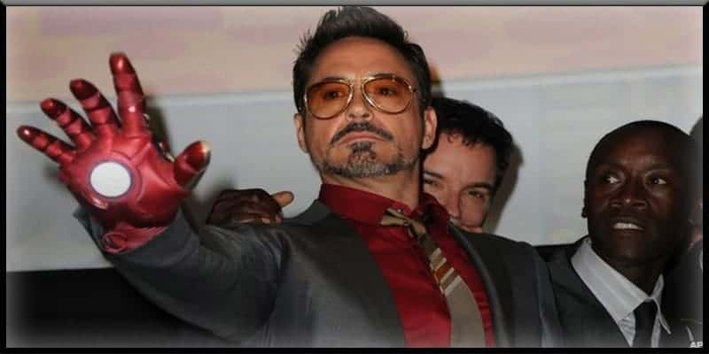 Iron Man Tony Stark Robert Downey Jr invests in advanced tech technology clean world planet earth environment climate change