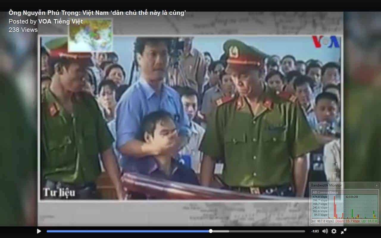 viet man killed for supporting democratic views and media