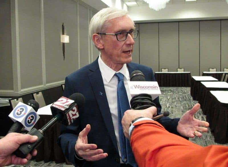 Wisconsin Governor Tony Evers decriminalize legalize medical marijuana cannabis
