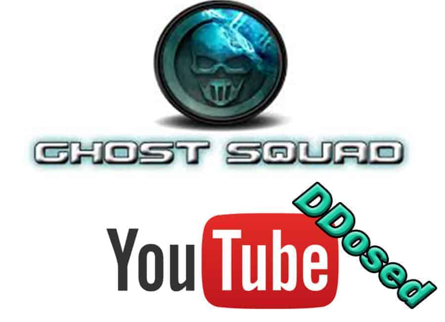 youtube shut down was it ghost squad hackers gsh downtime hacked ddos ddosed who did it